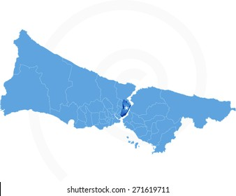 Istanbul Map Images Stock Photos Vectors Shutterstock