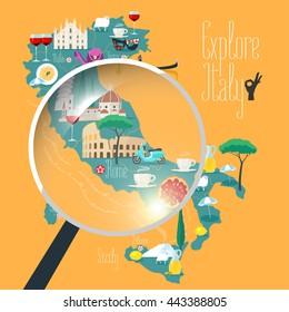 Ilustraciones Imagenes Y Vectores De Stock Sobre Italian