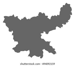 Map - Jharkhand (India)