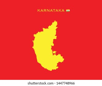 karnataka images stock photos vectors shutterstock https www shutterstock com image vector map karnataka states india federated republic 1447748966