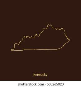 map of Kentucky