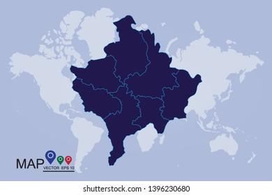 Kosovo Map Vector Images, Stock Photos & Vectors | Shutterstock on vatican city on world map, laos on world map, syria on world map, macedonia on world map, liechtenstein on world map, the balkans on world map, kurdistan on world map, indonesia on world map, kyrgyzstan on world map, moldova on world map, montenegro on world map, mali on world map, rwanda on world map, armenia on world map, sudan on world map, aegean sea on world map, cyprus on world map, san marino on world map, ukraine on world map, albania on world map,