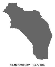 Map - La Rioja (Argentina)