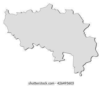 map liege belgium