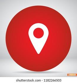 Map localization icon