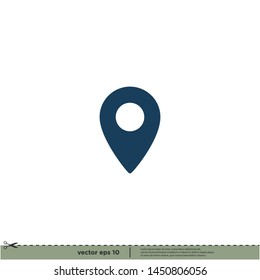 map location icon vector illustration design element
