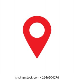 Map location icon vector illustration on white background