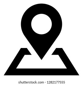 Map Location Pin Place Icon