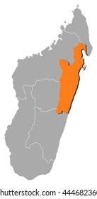 Map - Madagascar, Toamasina
