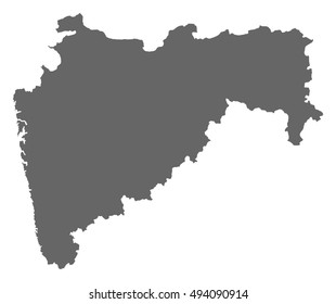 Map - Maharashtra (India)