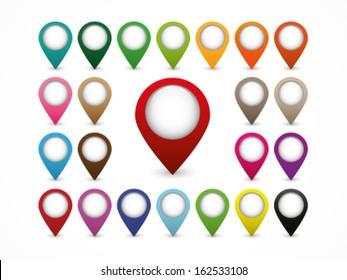 Map Marker - Blank