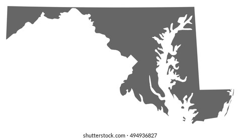 Map - Maryland (United States)
