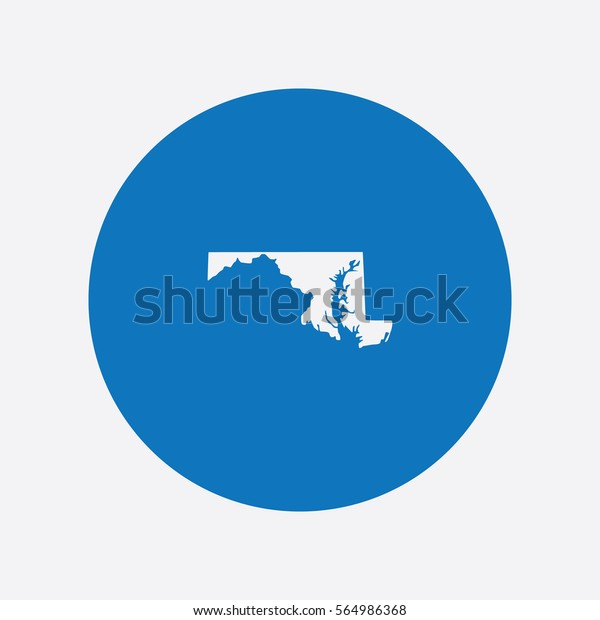Map Maryland Vector Illustration Stock Vector (Royalty Free ... on graffiti of maryland, layout of maryland, landscape of maryland, graph of maryland, icons of maryland, clipart of maryland, food of maryland, drawing of maryland, cartoon of maryland,