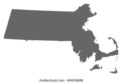 Map - Massachusetts (United States)