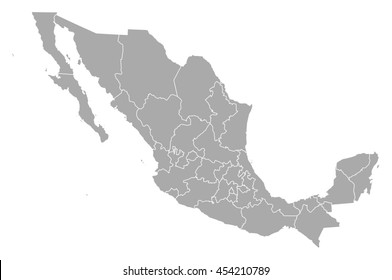 Map - Mexico