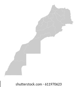 Map - Morocco