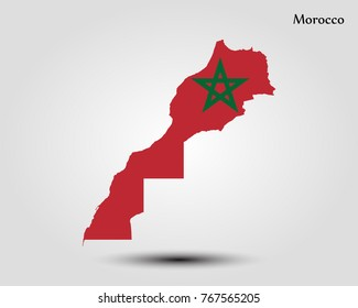 Map of Morocco