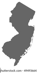 Map - New Jersey (United States)