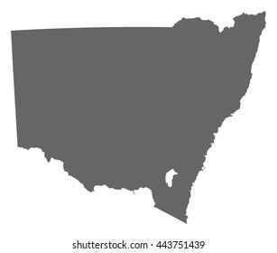 Map - New South Wales (Australia)