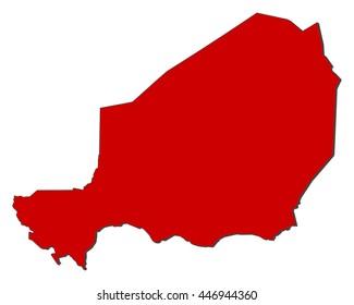 Map - Niger
