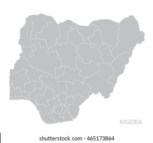 Nigeria Map Images Stock Photos Vectors Shutterstock