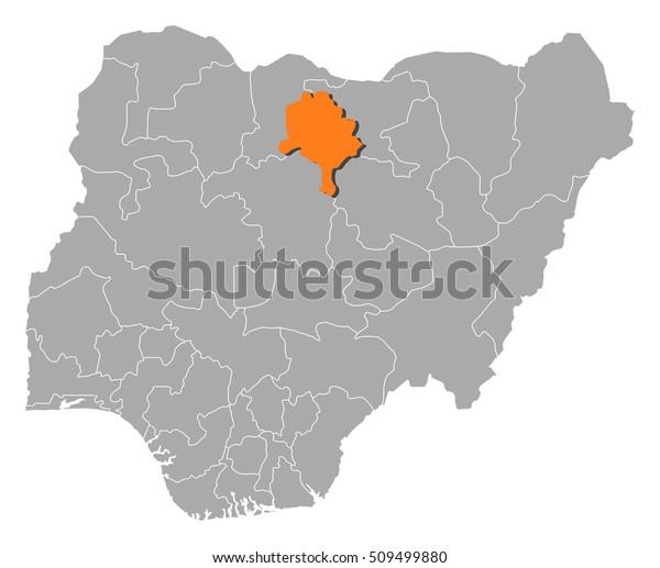 Map Nigeria Kano Stock Vector (Royalty Free) 509499880 on kilwa on world map, dakar on world map, algiers on world map, jeddah on world map, luanda on world map, edo on world map, khartoum on world map, kinshasa on world map, new york on world map, delta on world map, accra on world map, benguela on world map, oslo on world map, conakry on world map, london on world map, doha on world map, bamako on world map, harare on world map, nairobi on world map, gao on world map,
