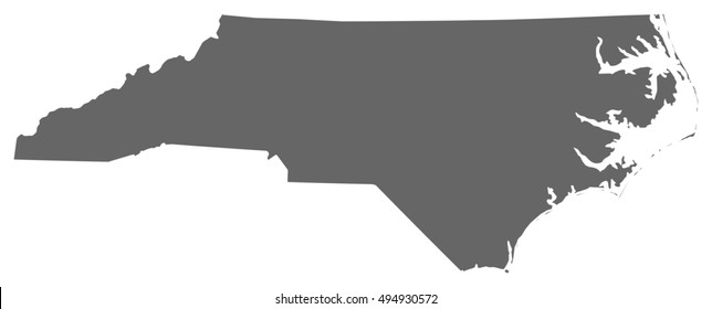 Map - North Carolina (United States)