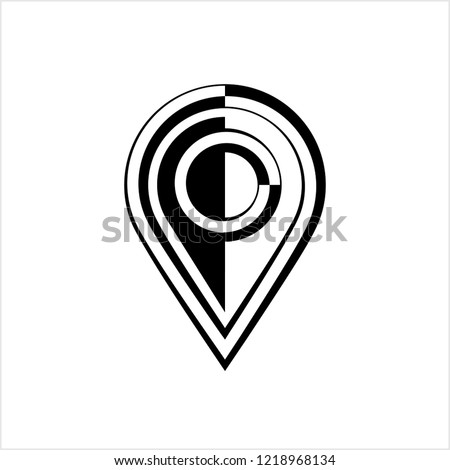 Map Pin Icon Location Marker Pin Stock Vector Royalty Free