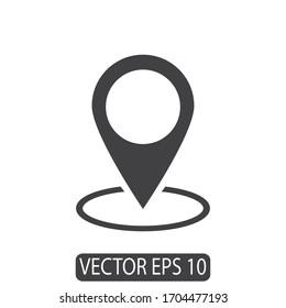 map pin location icon design vector eps 10