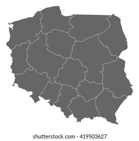 Map - Poland