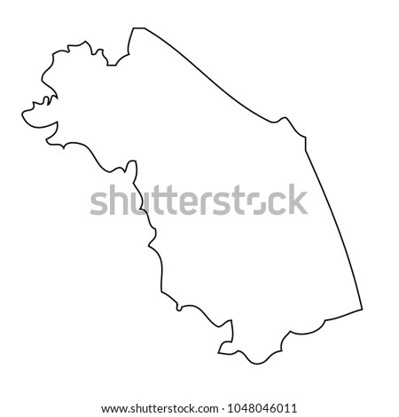 Marche Region Italy Map.Map Region Italy Marche Vector Stock Vector Royalty Free