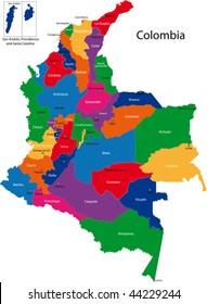 Mapa De Colombia Ciudades.Imagenes Fotos De Stock Y Vectores Sobre Ciudades De