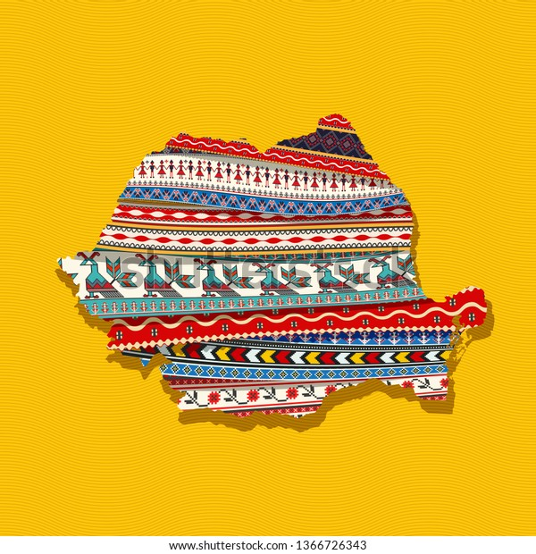 map-romania-covered-ethnic-textures-600w