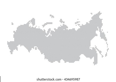 map of russia. illustration geography vector cartography, art