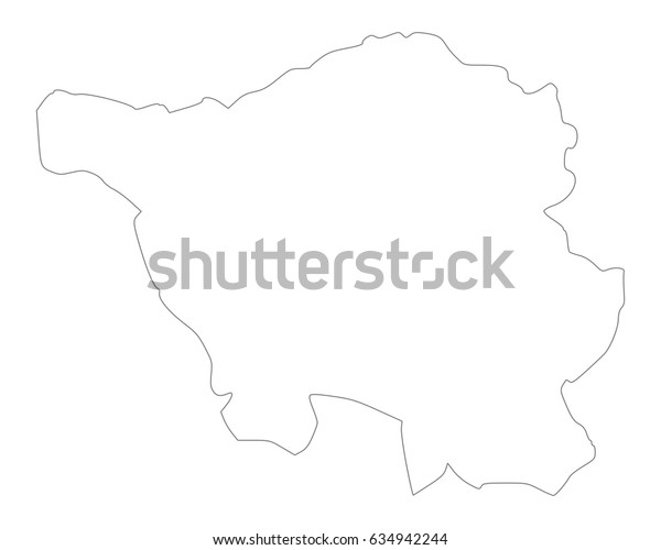 Map of Saarland