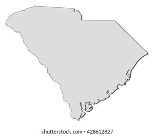Map - South Carolina (United States)