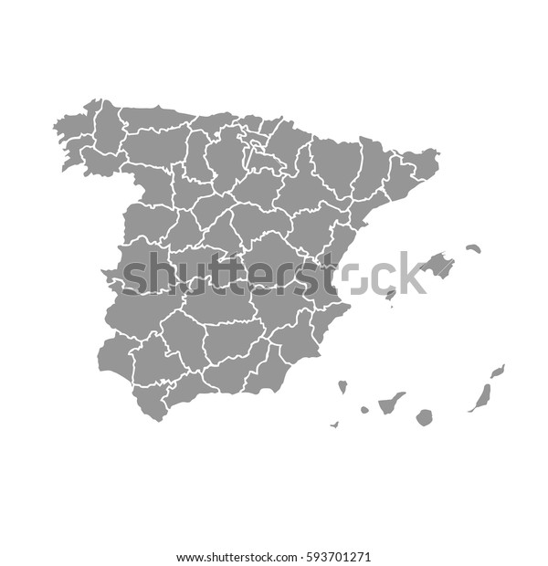 Map of Spain