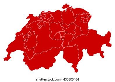 Map - Swizerland