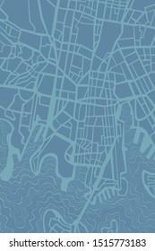 """Map of Sydney"" vector texture. Digital background."