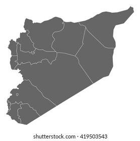 Map - Syria