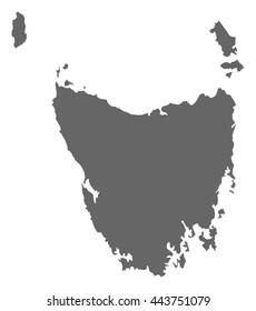 Map - Tasmania (Australia)