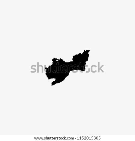 Map Tekirdag Turkey Vector Illustration Stock Vector (Royalty Free ...