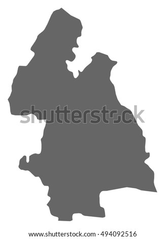 Map Tipperary Ireland Stock Vector Royalty Free 494092516