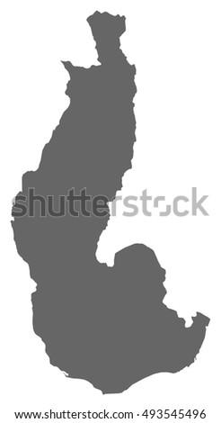 Map Toliara Madagascar Stock Vector (Royalty Free) 493545496 ...