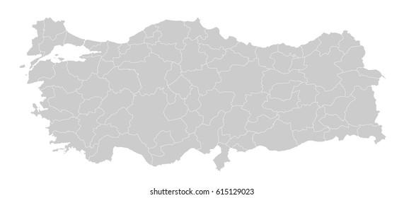 Turkey+map Images, Stock Photos & Vectors | Shutterstock