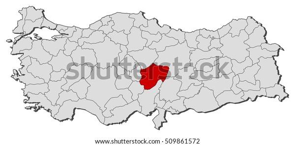 Map Turkey Kayseri Stock Vector (Royalty Free) 509861572 on thyatira turkey map, malazgirt turkey map, akcakale turkey map, denizli turkey map, uchisar turkey map, burdur turkey map, princes' islands turkey map, artvin turkey map, erzurum turkey map, derinkuyu turkey map, turkey location on map, adapazari turkey map, pasabag turkey map, damascus turkey map, seleucia pieria turkey map, mount nemrut turkey map, aleppo turkey map, grand bazaar turkey map, cappadocia turkey map, palmyra turkey map,