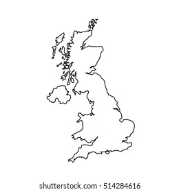 Map Of Uk Black And White.Uk Map Images Stock Photos Vectors Shutterstock