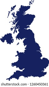 The Map of the United Kingdom