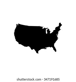 Map of United States America