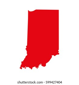 Indiana Map Images Stock Photos Vectors Shutterstock